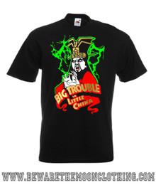 Jack burton big trouble in little china retro 80s movie t for Big trouble in little china jack burton shirt