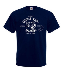 Mens navy Castle Rock Salvage Stand By Me Movie T Shirt