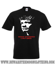 Mens black Eddie Guerrero Wrestling T Shirt