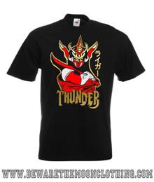 Mens Jushin Thunder Liger Japanese Wrestling Legend design on a black Super Premium Fruit Of The Loom T Shirt