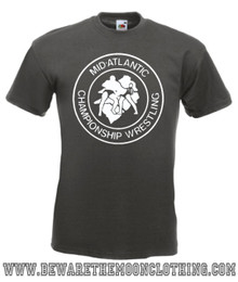 Mid Atlantic Championship Wrestling mens graphite T Shirt