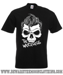 The Wanderers Retro Movie T Shirt Mens Black