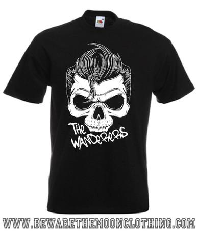 The Wanderers Retro Movie T Shirt Mens Black