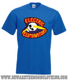 The Warriors Electric Eliminators Retro Movie T Shirt mens royal blue