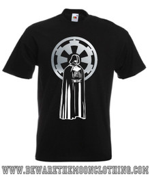 Darth Vader Star Wars Retro Movie T Shirt mens black