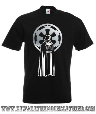 Darth Vader Star Wars Retro Movie T Shirt mens black