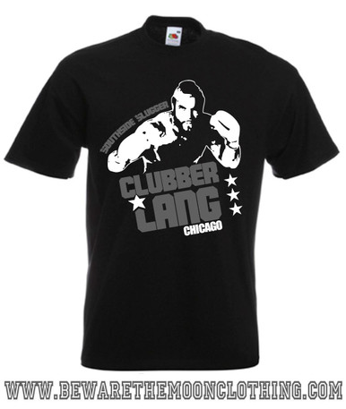 Clubber Lang Mr T Retro Rocky Movie T Shirt mens black