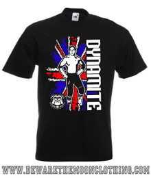 Dynamite Kid Wrestling Legend T Shirt mens black