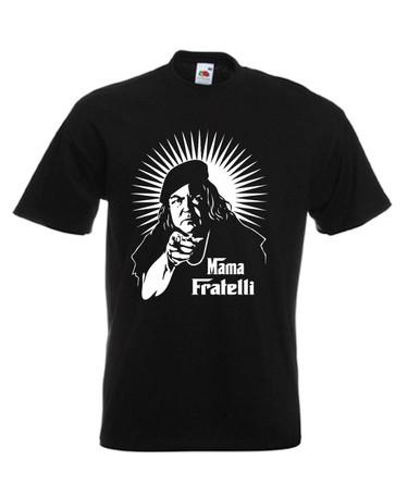 Mens black Goonies Mama Fratelli Movie T Shirt