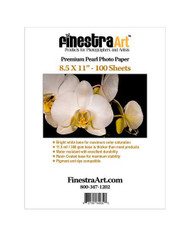 8.5x11 Premium Pearl Photo Paper 100 sheets
