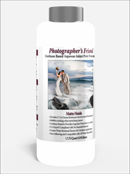 Photographer's Friend Matte Finish Aqueous/Urethane base Print Protectant  1 Quart