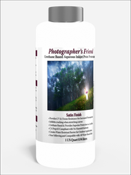Photographer's Friend Satin Finish Aqueous/Urethane base Print Protectant  1 Quart