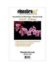 13x19 Smooth Art Museum Grade Inkjet Paper  25 sheets
