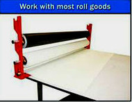 Pro Roll Table Applicator  Holds 3 rolls  ( Tubing Not Included)