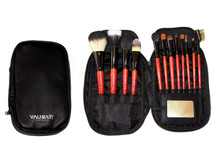 VAU BEAUTY TRAVEL BRUSH SET - 12PCS & MIRROR