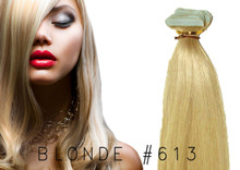 "20"" TAPE EUROPEAN REMY HUMAN HAIR EXTENSION 