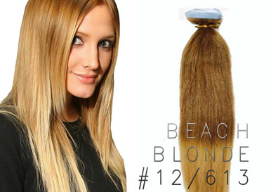 "20"" OMBRE TAPE EUROPEAN REMY HUMAN HAIR EXTENSION 