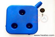 Plastic Fuel Tank  10 l Capacity Blue
