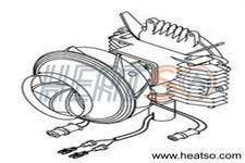 Webasto Air Top 3500ST 12v Blower Motor Assembly