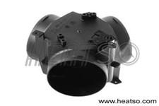 Webasto or Eberspacher heater duct 90mm flap valve Y branch