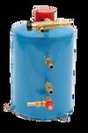 Vertical SureCal 10 litre / 2.64 gal Single Coil Calorifier