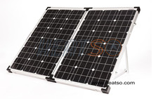 Go Power! Portable 120W Solar Panel kit