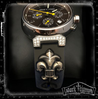 Custom for Jason - Deposit -  Relic Fleur Watch Bracelet in Sterling Silver for Louis Vuitton