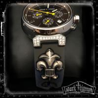 Custom for Jason - Deposit -  Relic Fleur Watch Bracelet in Sterling Silver for Louis Vuitton