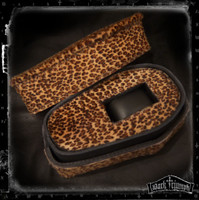 Leopard Leather Coffin Watch Box | GUARDIAN - LEOPARD