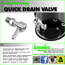 Catch Can Quick Drain Valve
