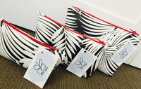 Cosmetic \ Toiletry Bag - Zebra print