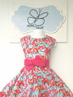 Dress - Pink Flamingo
