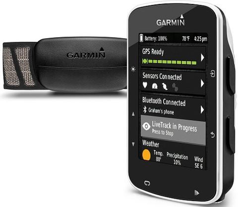 Garmin Edge 520 GPS Bike Computer Bundle