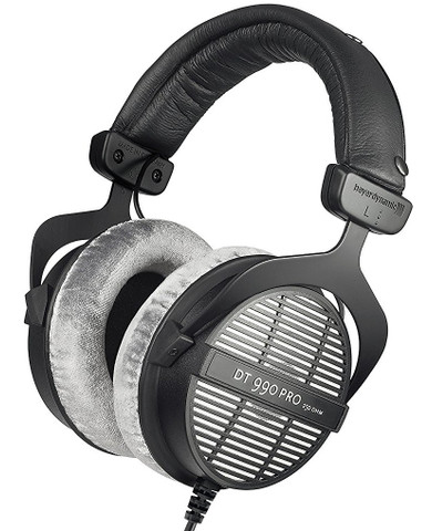Beyerdynamic DT990 Pro Open Dynamic Headphone (250 ohm)
