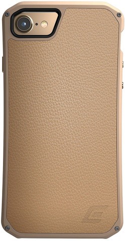 Element Case Solace LX Premium Leather for Apple iPhone 7 (Gold)