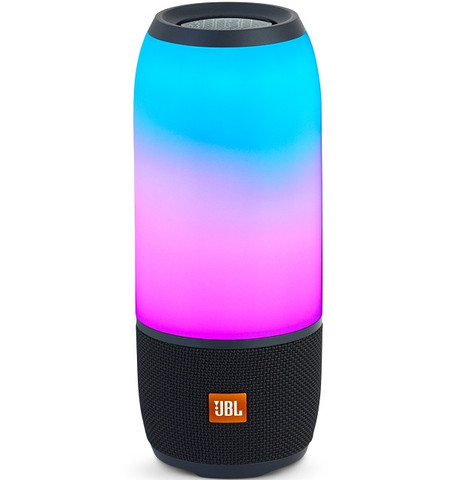 JBL Pulse 3 Portable Waterproof Bluetooth Speaker (Black)