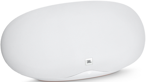 JBL Playlist Wireless Speaker with Chromecast Built-In (White)