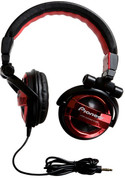 Pioneer Fully-Enclosed Foldable Dynamic Headphone (SE-MJ551-R  Red)