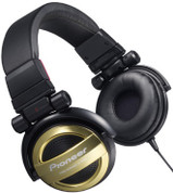 Pioneer Fully-Enclosed Foldable Dynamic Headphone (SE-MJ551-N Gold)