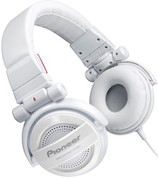 Pioneer Fully-Enclosed Foldable Dynamic Headphone (SE-MJ551-W White)