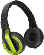 Pioneer Professional DJ Headphone (HDJ-500-G Green)