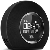 JBL Horizon Bluetooth Clock Radio with USB Charging and Ambient Light (Black)