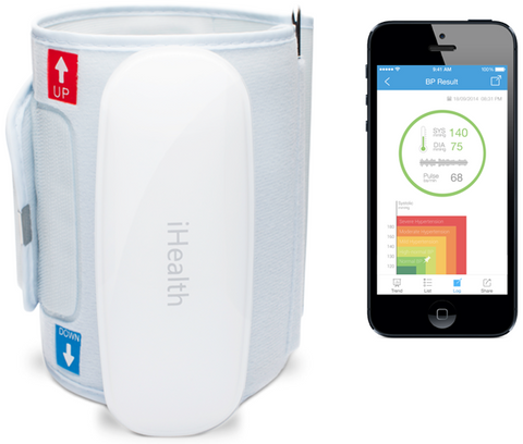 iHealth BP5 Wireless Blood Pressure Monitor for iPhone and Android