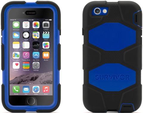 "Griffin Survival Case for iPhone 6 (Black/Blue 4.7"")"