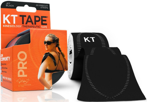 KT Tape Pro Sports Tape (Jet Black)