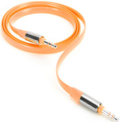 Griffin Aux Audio Flat Cable (0.9m Orange)