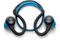 Plantronics Backbeat Fit Bluetooth Headphones (Blue)