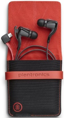 Plantronics BackBeat Go 2 + Charging Case (Black)