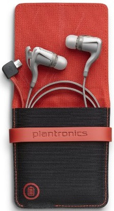 Plantronics BackBeat Go 2 + Charging Case (White)