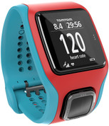 TomTom Runner Cardio (Turquoise/Red)